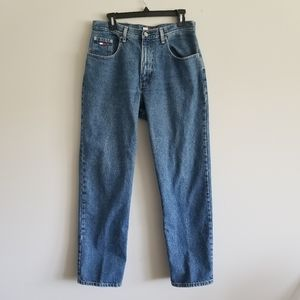 Vintage Tommy Hilfiger Mens Jeans 30X30 Relaxed